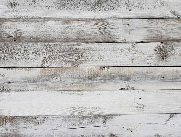 Whitewash Weathered Wood Planks for Walls - Easy Nail up Application (23 square feet)