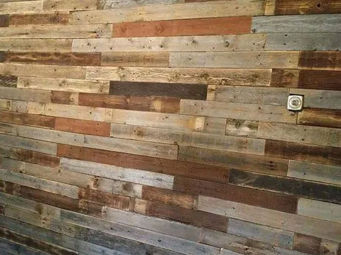 RECLAIMED BARN WOOD WALL PANELING PLANKS