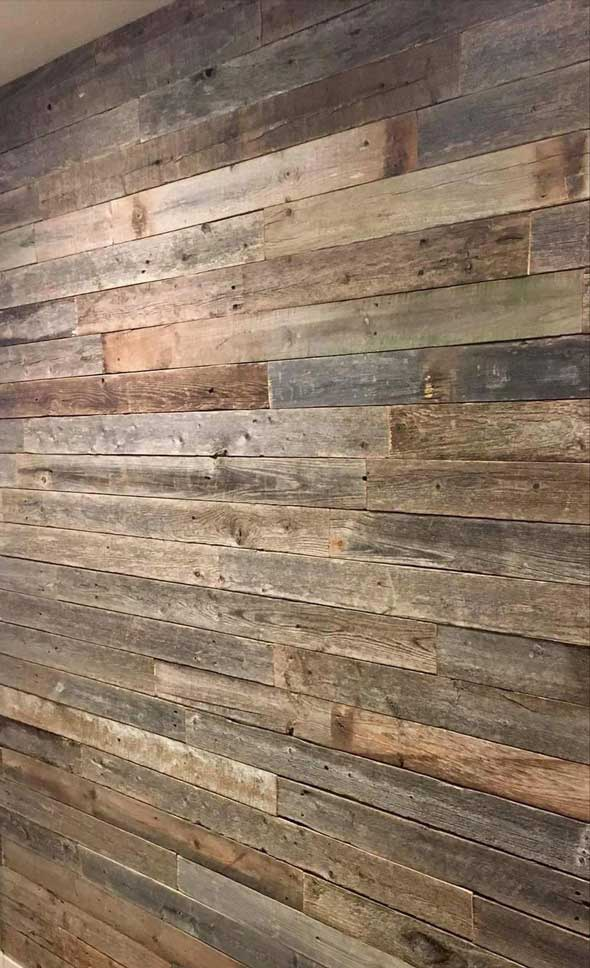 Reclaimed Barn Wood Wall Paneling