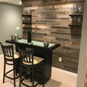 Peel & Stick Rustic Reclaimed Barn Wood Paneling
