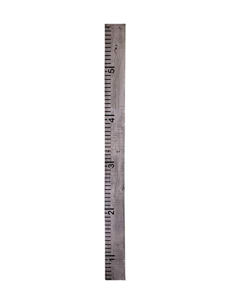 Growth Chart for Kids - Painted Grey