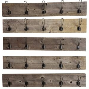 Coat Rack - Weathered Grey