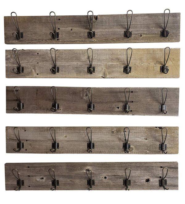 Coat Rack - Weathered Grey