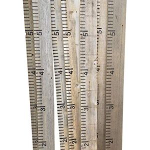 Growth Chart for Kids - Weathered Grey