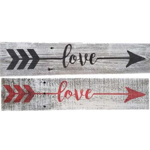 Love-Sign-Black-White-&-Red-White