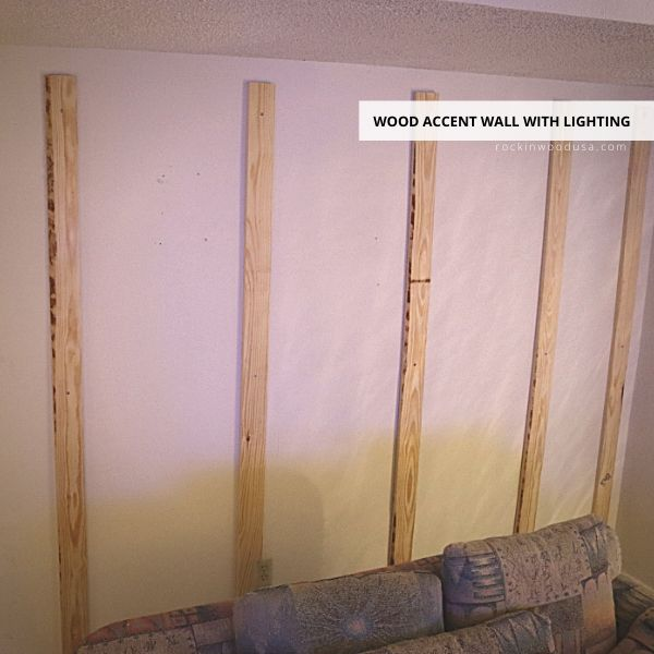 Vertical support for Reclaimed Wood Planks-1