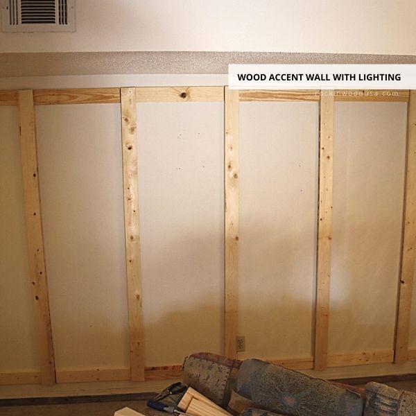 Frame support for Reclaimed Wood Planks-1
