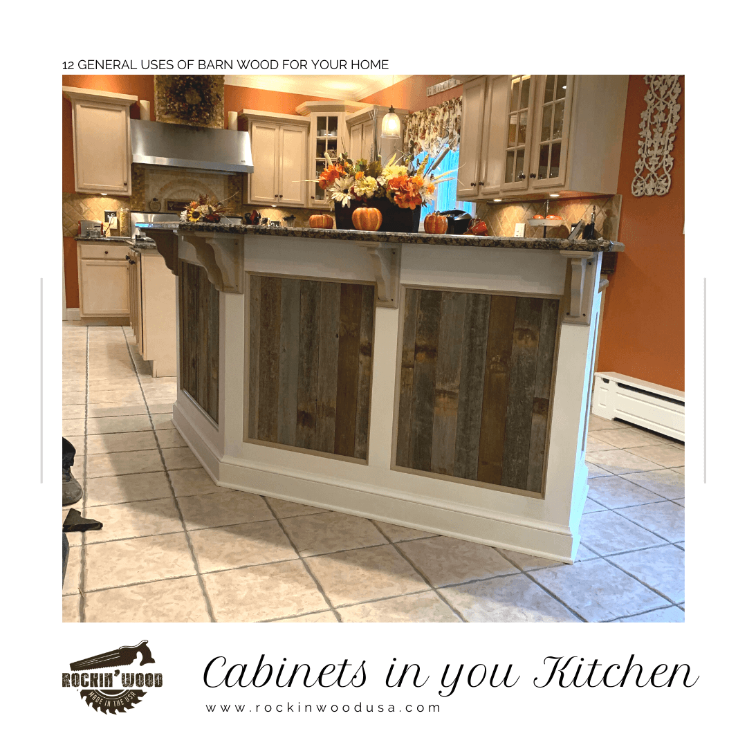 Cabinets in your kitchen