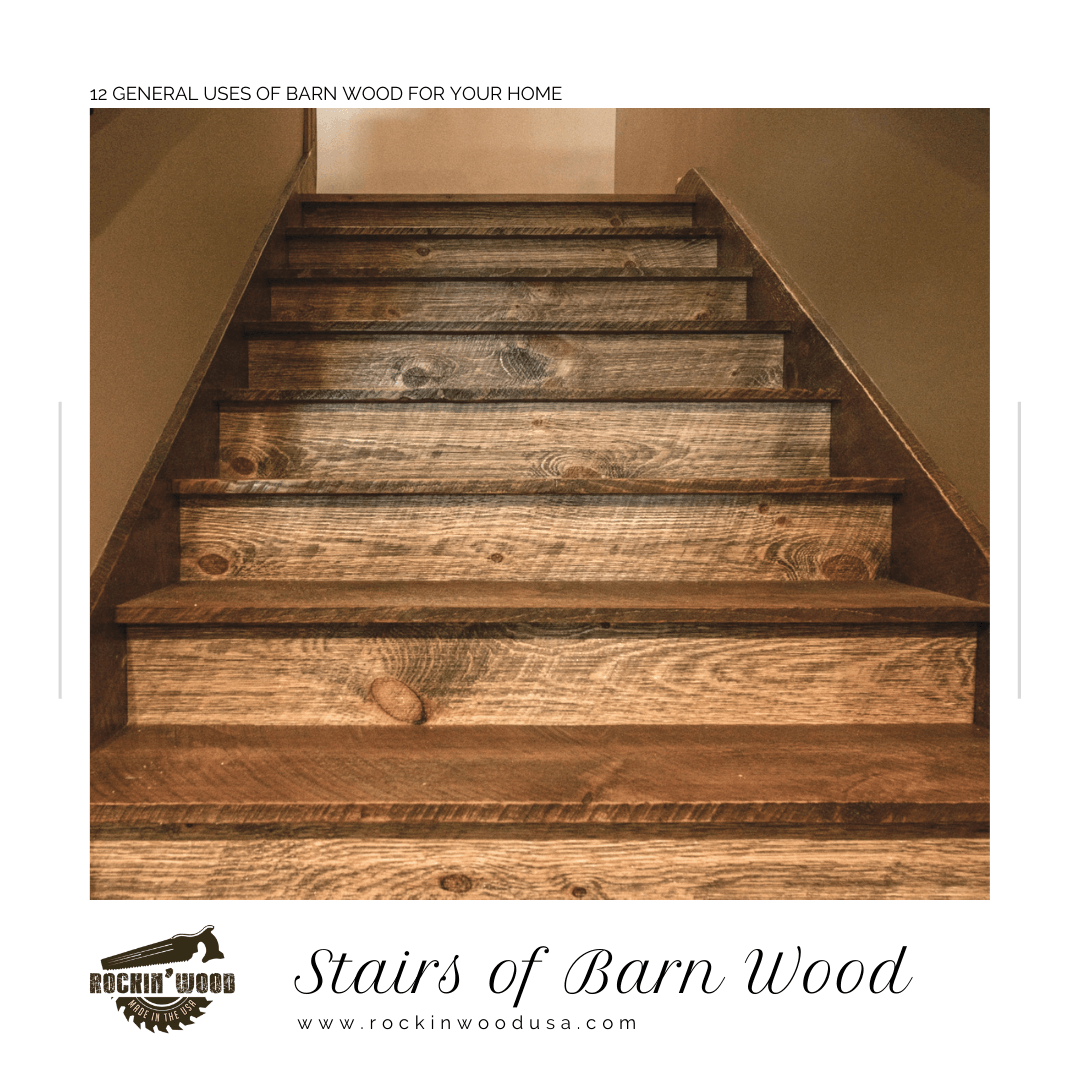 Stairs of Barn Wood