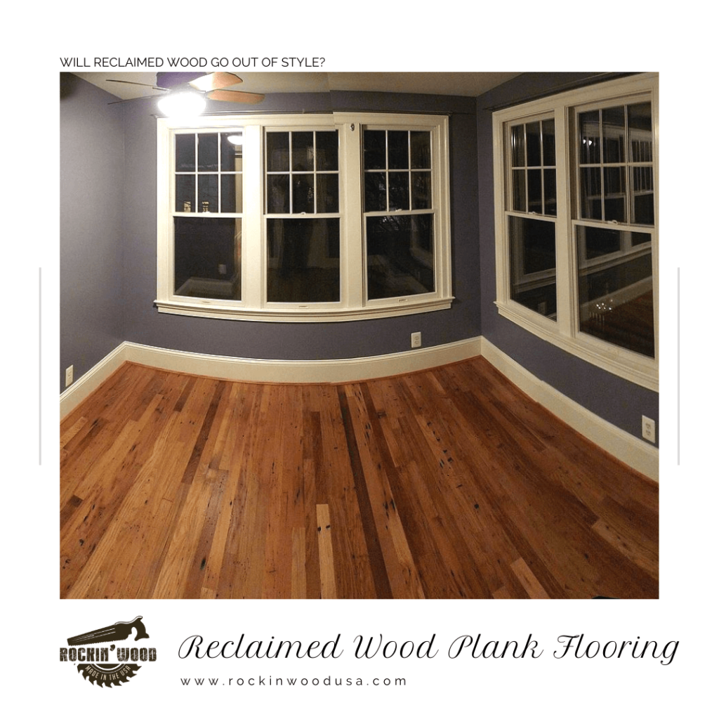 reclaimed wood plank flooring