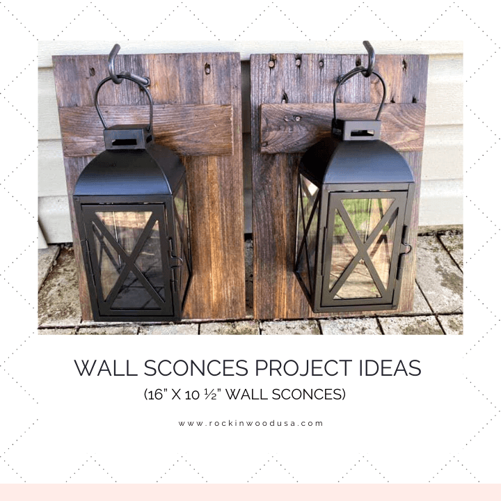 Wall Sconces Finished Product