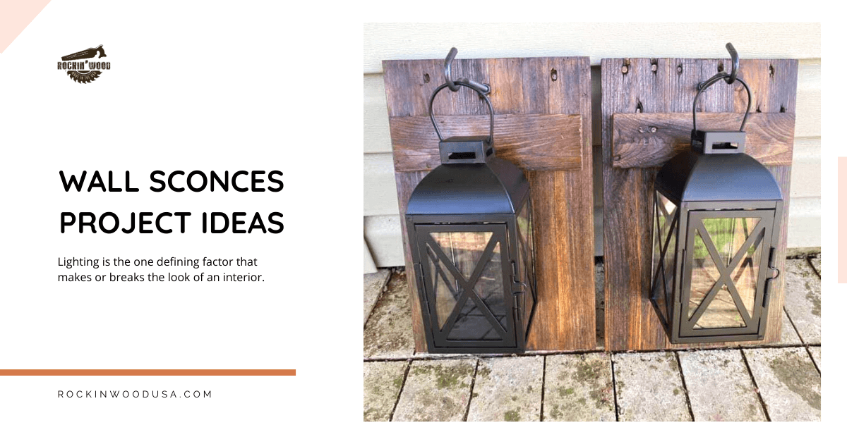 Wall sconces project ideas