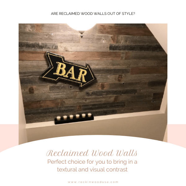 Reclaimed Wood Walls Perfect choice