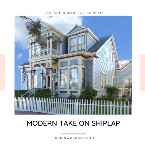 Modern Take on Shiplap