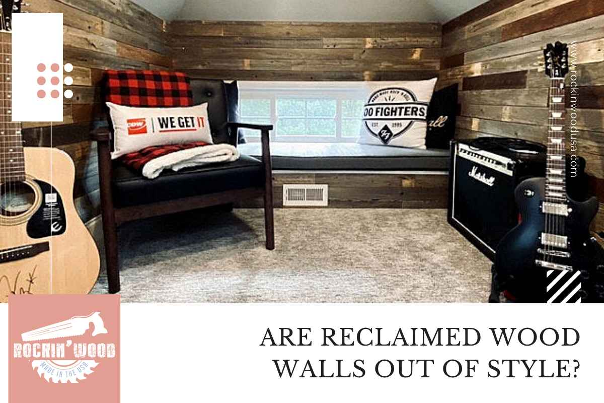 Are Reclaimed Wood Walls Out Of Style?