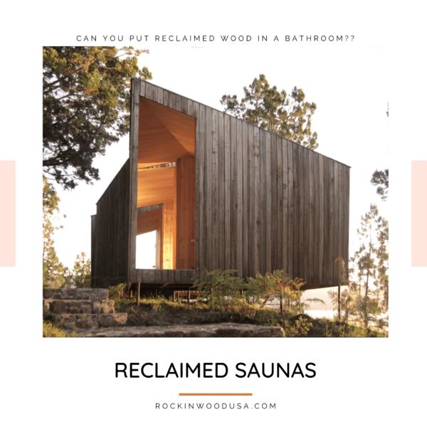 Reclaimed Saunas