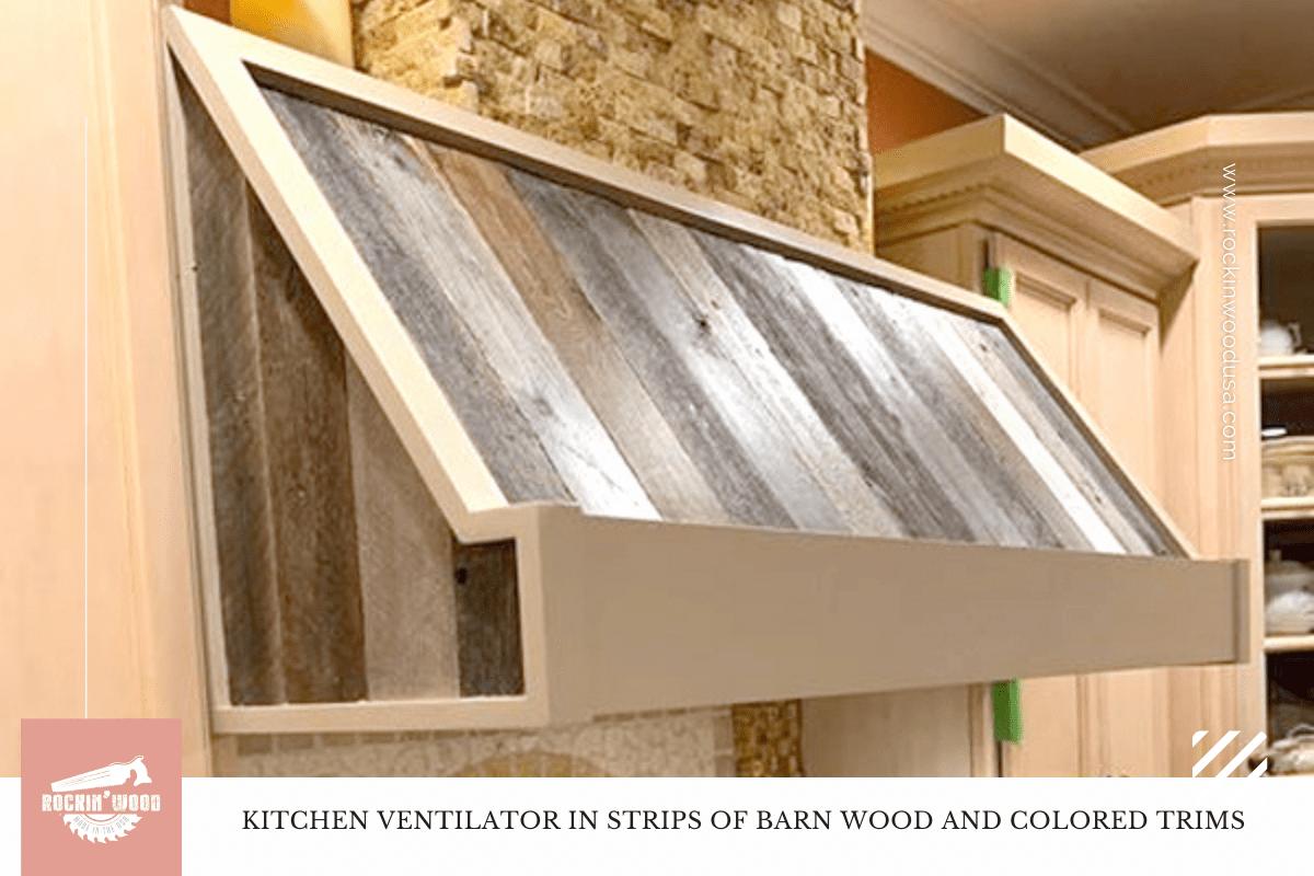 Kitchen ventilator in strips