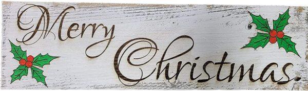 Merry Christmas Whitewash