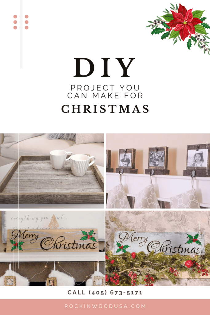 Pinterest - DIY Project you can make for christmas