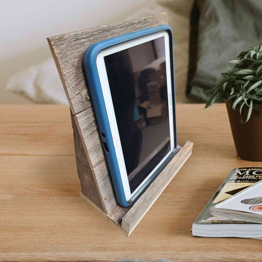 Tablet Stand on table