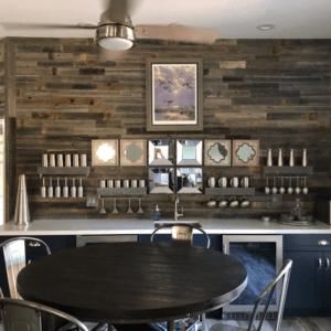 Peel & Stick Rustic Reclaimed Barn Wood Paneling
