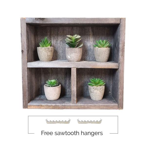 Shadow Box Square-free sawtooth hangers_opt